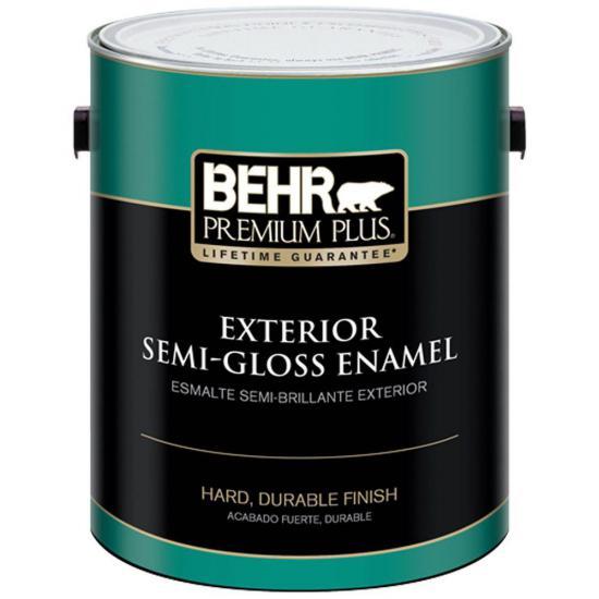 5 liter Blue Exterior Paint