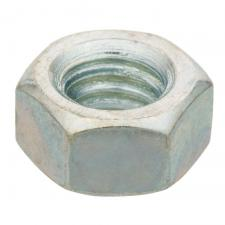 Zinc-Plated Coarse Threaded Hex Nut
