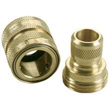 Garden hose connector coupling